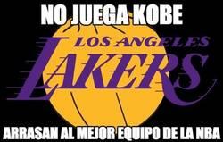 Enlace a No juega Kobe