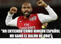 Enlace a Las declaraciones de Henry son tan buenas como lo era él cuando jugaba a fútbol