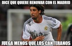 Enlace a Dice que quiere renovar con el Madrid