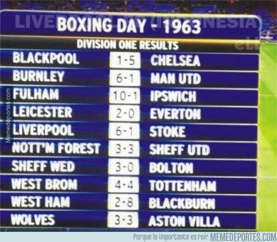 427195 - Boxing Day de 1963. ¡Cuánto ha llovido!