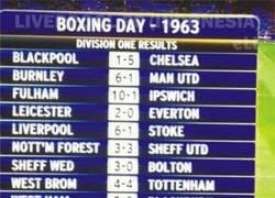 Enlace a Boxing Day de 1963. ¡Cuánto ha llovido!