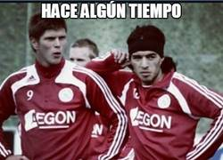 Enlace a Hace algún tiempo atrás en el Ajax...