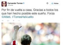 Enlace a Pues ya es oficial. Torres vuelve al Atleti