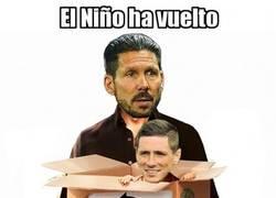 Enlace a Presentación oficial del regreso de Torres al Atleti