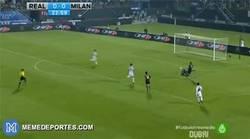Enlace a GIF: Gol de Ménez tras la generosa asistencia de Nacho