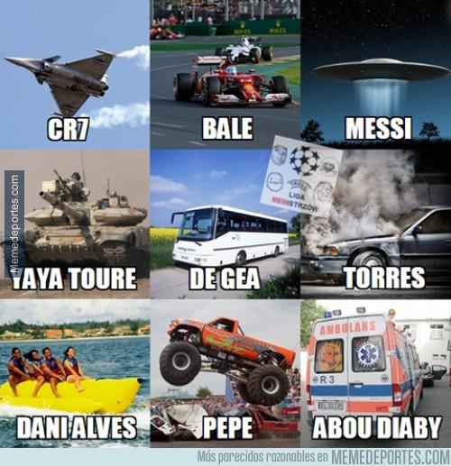 428465 - Si los futbolistas fueran vehículos