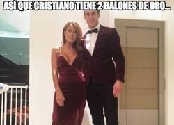 Enlace a Así que Cristiano tiene 2 balones de Oro