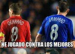 Enlace a Gerrard, toda una leyenda, nadie le dirá lo contrario