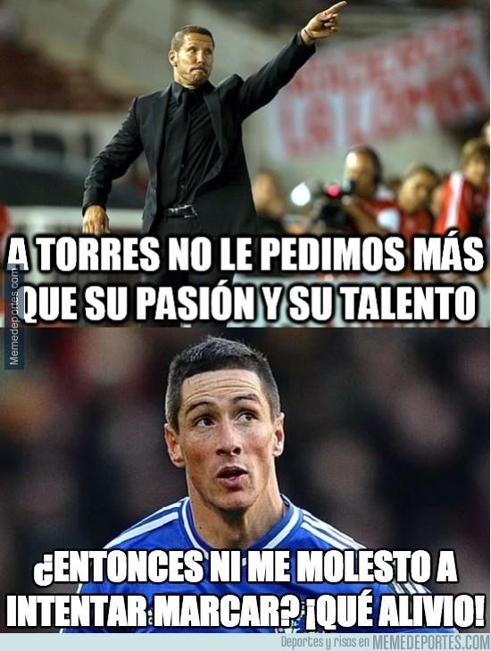 428979 - A Torres no le pedimos más que su pasión y su talento