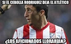 Enlace a Si el Cebolla Rodríguez deja el Atlético...