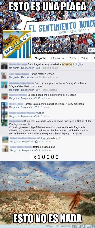 429461 - Mexicanos despotricando de Kameni y el Málaga everywhere