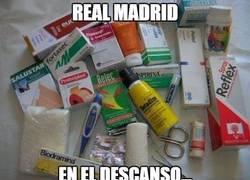 Enlace a Real Madrid en el descanso