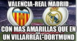 Enlace a Valencia-Real Madrid, partido de amarillas