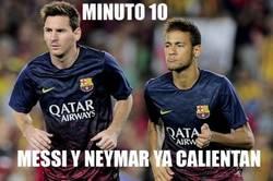 Enlace a Más le vale al Barça que empiecen a calentar
