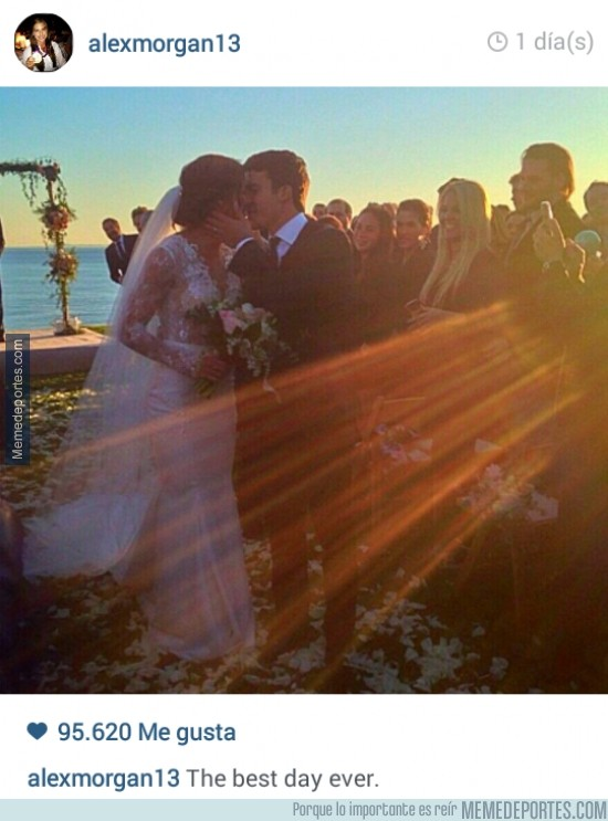 429814 - No apto para sensibles, la boda de Alex Morgan