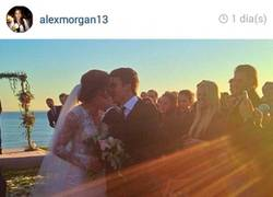 Enlace a No apto para sensibles, la boda de Alex Morgan