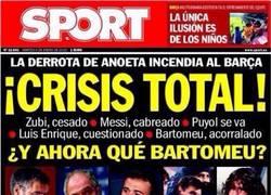 Enlace a Cuando el mismo Sport reconoce que el Barça va mal, significa que, realmente, va mal