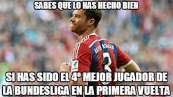 Enlace a Xabi Alonso lo peta en Munich