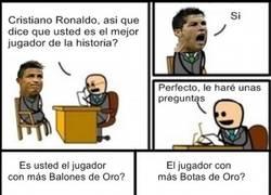 Enlace a Cristiano, el mejor jugador de la historia