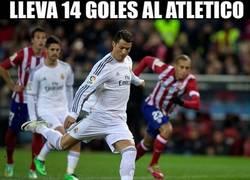 Enlace a Cristiano Ronaldo y sus curiosas estadisticas