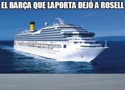 Enlace a ¿Volverá Laporta a levantar el crucero?