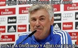 Enlace a Ancelotti va a por todas