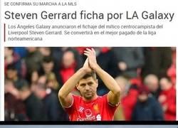 Enlace a Bienvenido a la MLS, Gerrard