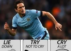 Enlace a La Premier confirma que Lampard está registrado sólo con el Man. City, no hay acuerdo con el NY Ci