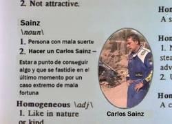 Enlace a Carlos Sainz ya aparece en el diccionario de Los Simpson