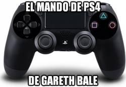 Enlace a El mando de PS4 de Gareth Bale