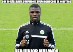 Enlace a Fallece el jugador del Wolfsburgo Junior Malanda