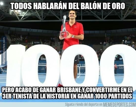 432437 - Y Roger Federer sigue a lo suyo