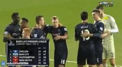 Enlace a GIF: Este equipo es muy grande. Con la victoria ante el United, el Southampton se coloca 3º