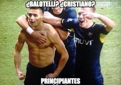 Enlace a ¿Balotelli? ¿Cristiano?