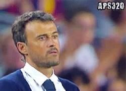 Enlace a GIF: Luis Enrique al ver que le salva el culo Neymar