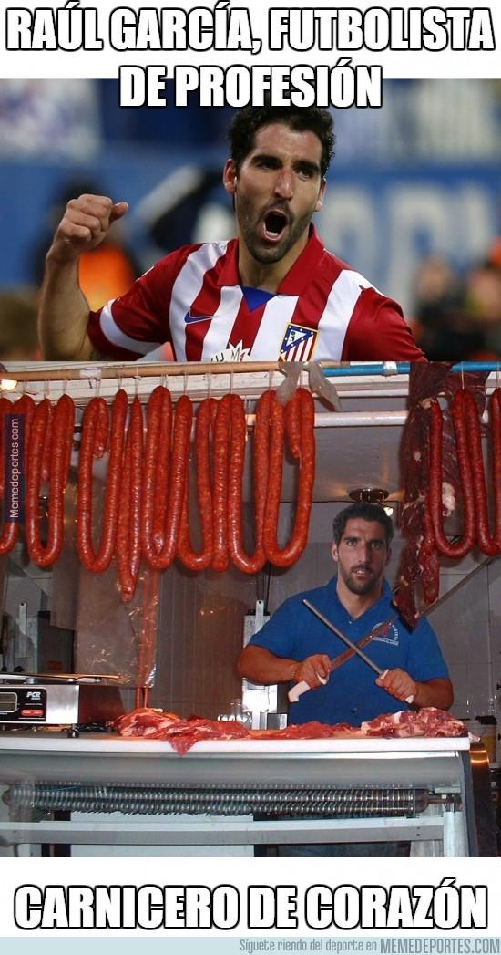 432914 - Raúl García, futbolista de profesión