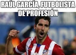 Enlace a Raúl García, futbolista de profesión