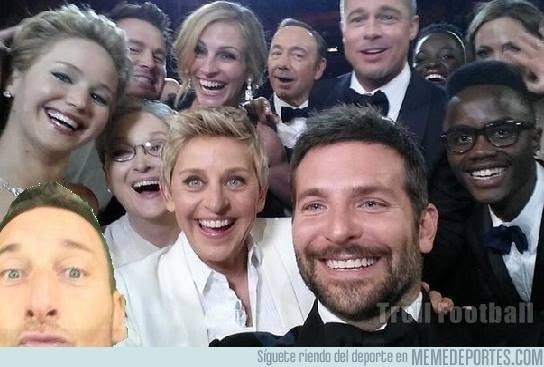 433036 - Totti se cuela en los Oscars