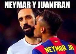 Enlace a Neymar y Juanfran