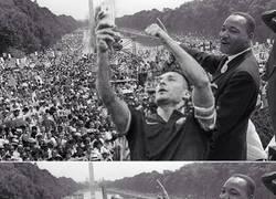 Enlace a Totti haciendo historia, se cuela en el discurso de Martin Luther King