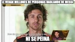 Enlace a Sabe que le verán millones de personas hablando de Messi