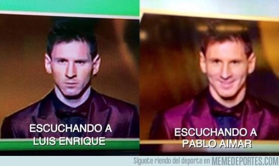 433492 - Está claro que Messi y Luis Enrique no se llevan bien