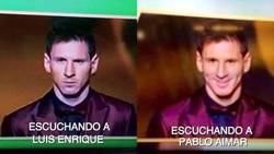 Enlace a Está claro que Messi y Luis Enrique no se llevan bien