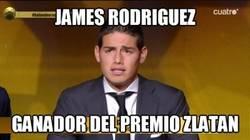 Enlace a Estaba cantado que James se llevaría el premio al mejor gol