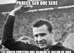 Enlace a Lev Yashin, el único portero que ganará el balón de oro