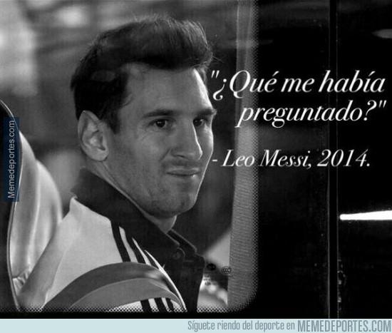 433702 - Frases célebres de Messi, hoy, la de la gala del Balón de oro