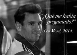Enlace a Frases célebres de Messi, hoy, la de la gala del Balón de oro