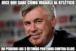 Enlace a Ancelotti, lo estás haciendo mal