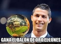 Enlace a Cristiano se queda con un solo balón de oro