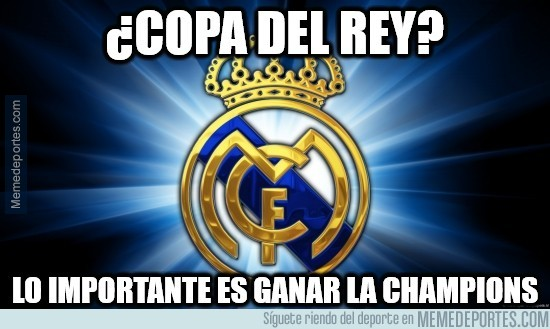 434976 - La Copa del Rey sólo es un trofeíllo